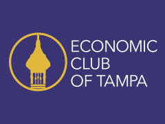 News Release – The Economic Club of Tampa Announces the Florida Economic Forum Monday, March 16, 2020