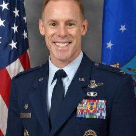 Photo of Colonel Benjamin Jonsson MacDill Airforce Base Commander, 6th Air Refueling Wing